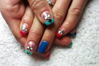 Some Funky Nail Art to Inspire You!  TetheredFeather