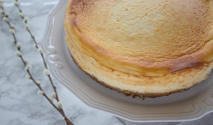 Say cheesecake.
