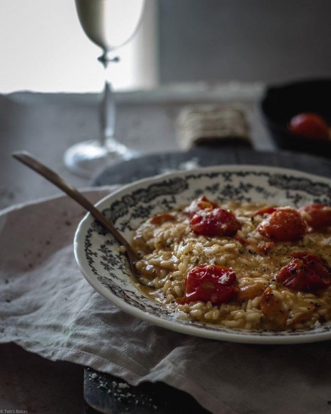 Ριζότο με ντοματίνια