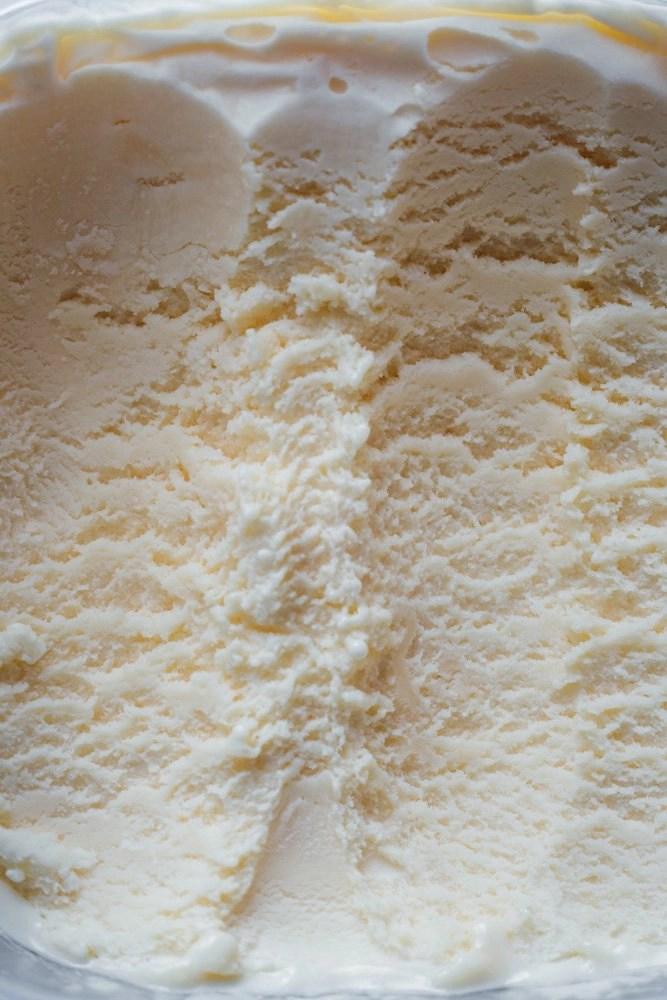 Grana Padano ice cream