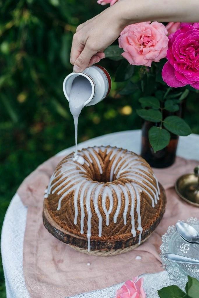 κέικ με κάρδαμο