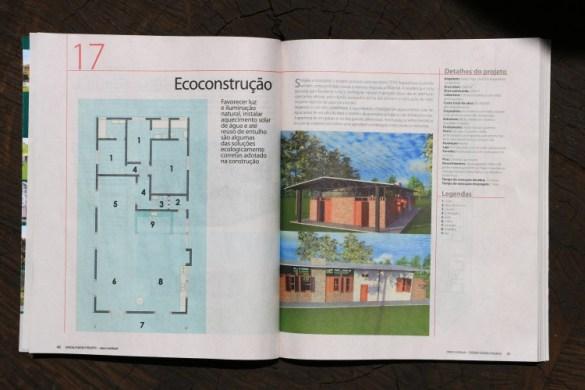 Revista Casa & Construção n° 10 Editora Escala Especial Casas de Campo páginas 40, 41, 76 e 77 Agosto de 2013 (2)