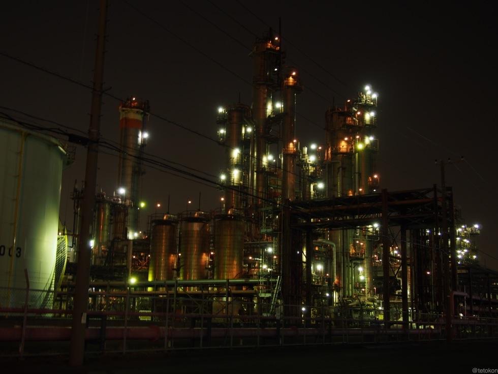 E-PL5で川崎の工場夜景撮影!素人でもここまで撮れた!