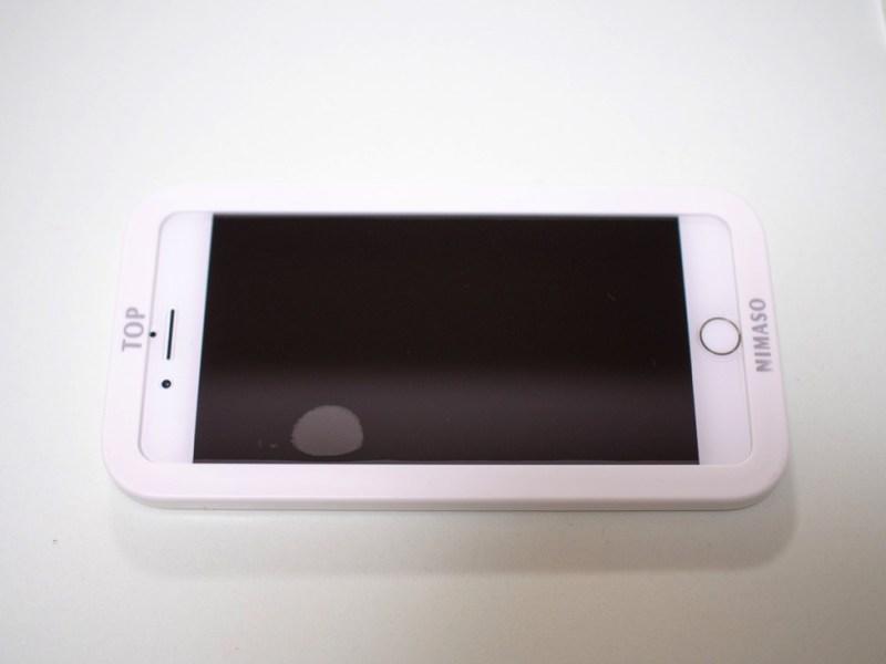 NimasoのiPhoneガラスフィルムが2枚入りで安くて貼りやすくてサポートが充実しすぎでオススメ