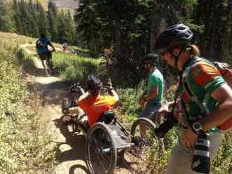 Joe-Stone-Foundation-Intermediate-Downhill-Ride-Targhee