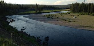 green river fishing
