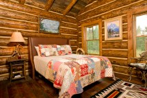 Log Cabin Interior Decorating Bedrooms