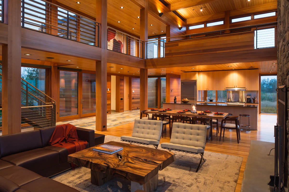 Minimalist Mountain Home Teton Heritage Builders