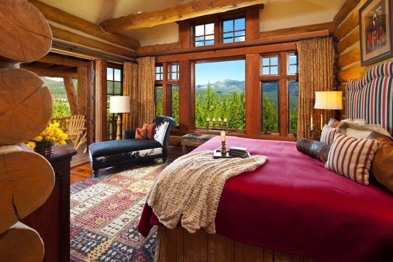Log Cabin Master Bedroom Decorating Ideas | Billingsblessingbags.org
