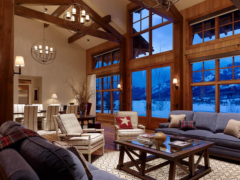 Shooting Star Residence  Teton Heritage Builders