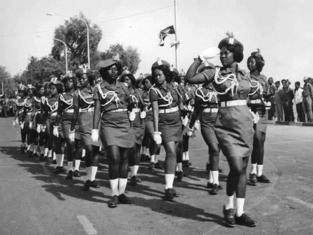 Armée Soudanaise féminine, 1960