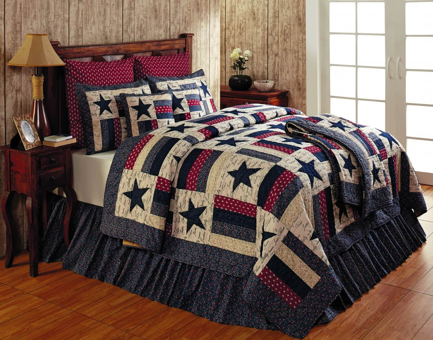 Liberty King Quilt  Teton Timberline Trading  Sale Quilts