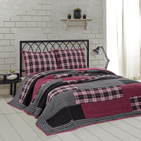 Carly Twin Quilt Set - Teton Timberline Trading