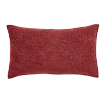 Cheyenne American Red Luxury Pillow Sham