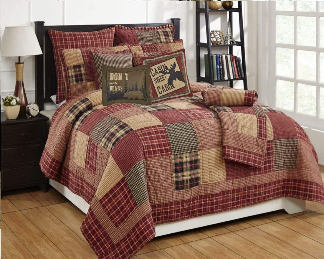 Rutherford King Quilt SetTeton Timberline Trading