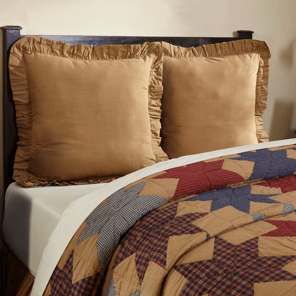 Kindred Star Standard Quilted Pillow Sham Teton Timberline