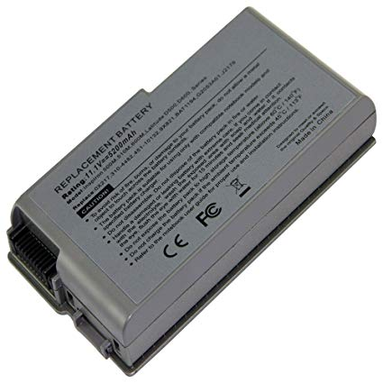 Dell Latitude D500,D505, D510, D520 Laptop battery