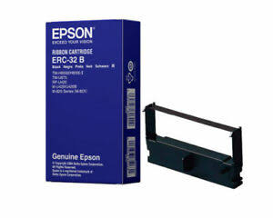 Epson ERC-32B black ribbon cartridge