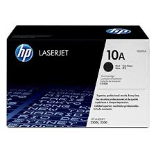 HP 10A Black Toner Cartridge