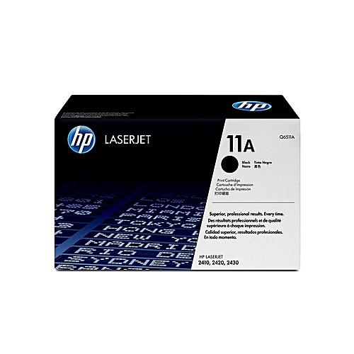 HP 11A Black Toner Cartridge
