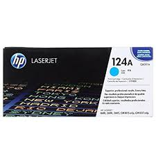 HP 124A Cyan Toner Cartridge