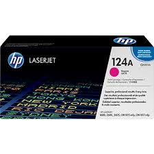 HP 124A Magenta Toner Cartridge