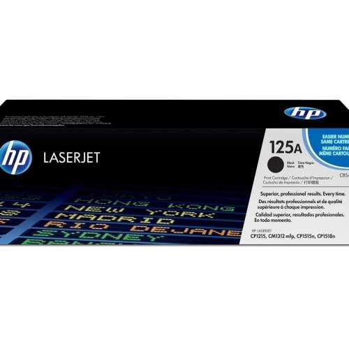 HP 125A Black Toner Cartridge CB540A