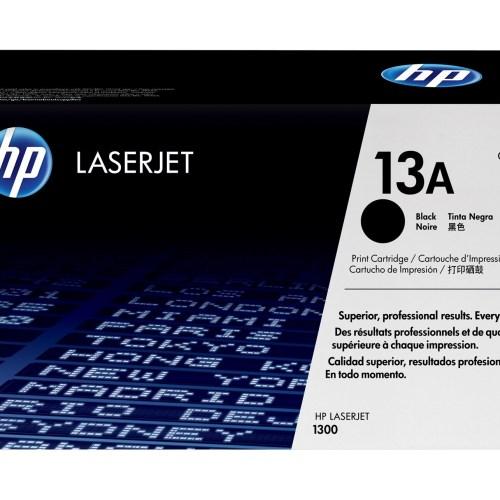 HP 13A Black Toner Cartridge Q2613A