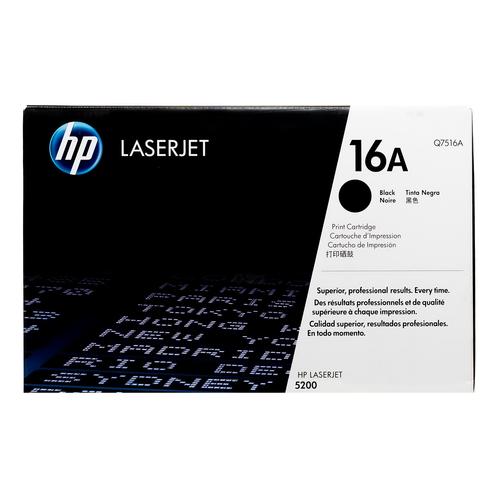 HP 16A Black Toner Cartridge