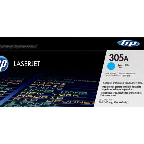 HP 305A Cyan Toner Cartridge CE411A