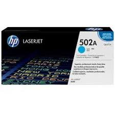 HP 502A Cyan Toner Cartridge
