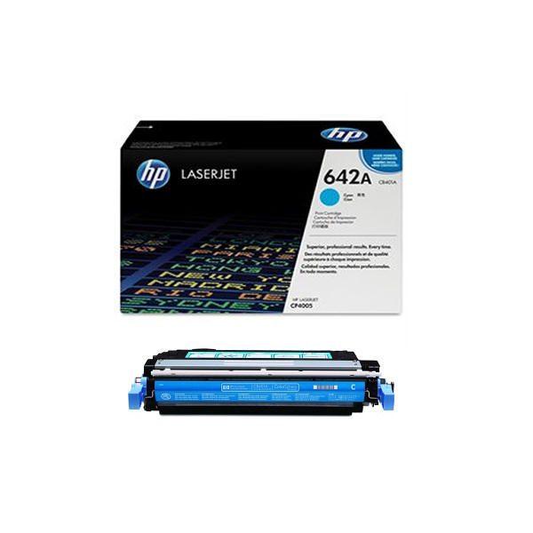 HP 642A Cyan Toner Cartridge