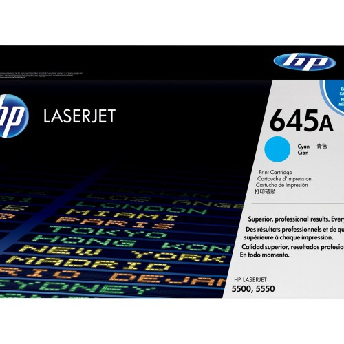 HP 645A Cyan Toner Cartridge