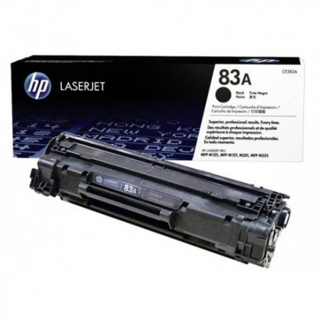 HP 83A Black Toner Cartridge CF283A