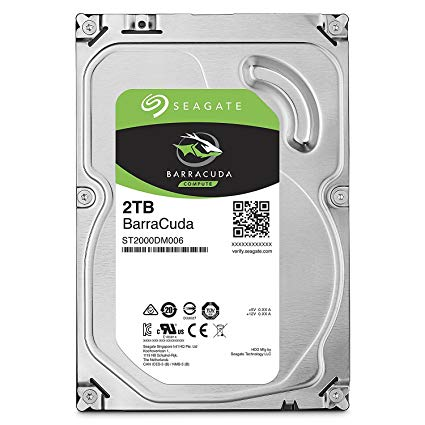 Seagate 2TB Desktop Internal Hard Drive