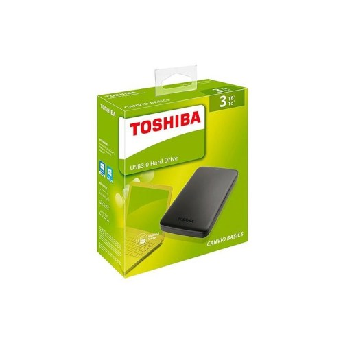 Toshiba Canvio 3TB External Hard Drive