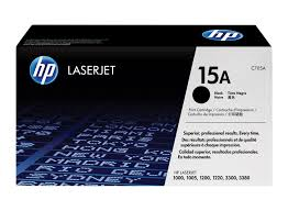 HP 15A Black Toner Cartridge