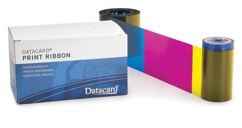 Datacard 534100-003 YMCKFT Color Ribbon