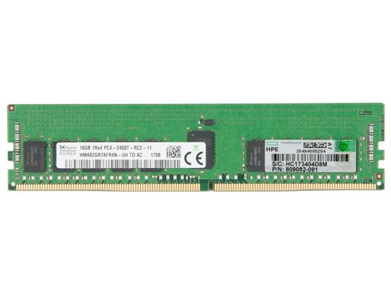 HP 16GB 1Rx4 PC4-2400T Server Ram