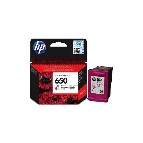 HP 650 Tri-color Ink Advantage Cartridge
