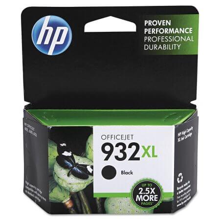 HP 932XL High Yield Black Ink Cartridge