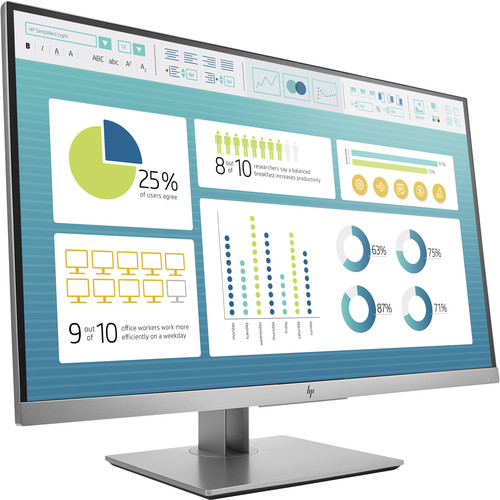 HP Elite Display E273 27 inch Monitor