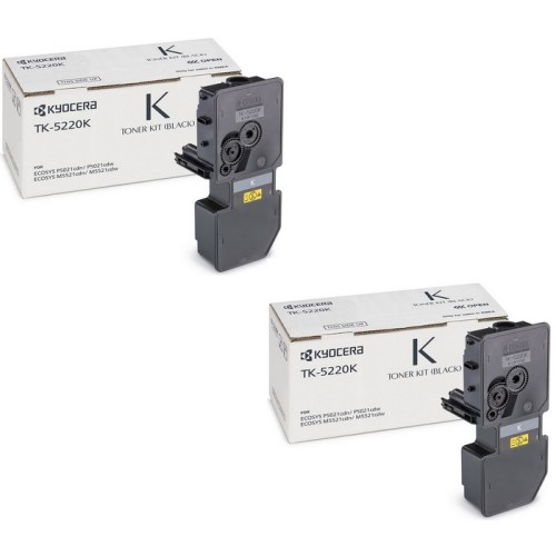 Kyocera TK-5220K black toner cartridge