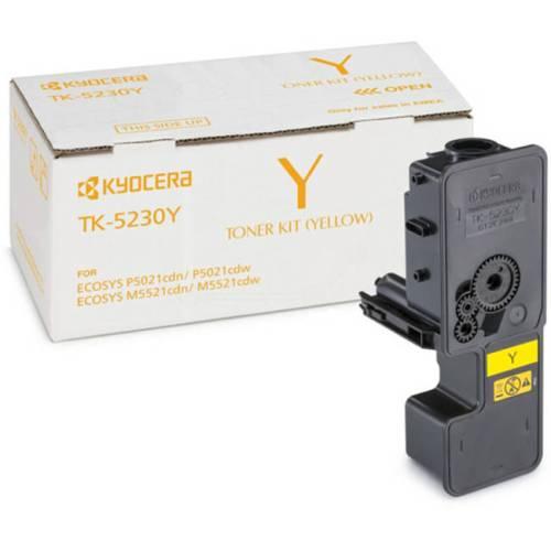 Kyocera TK-5230Y yellow toner cartridge