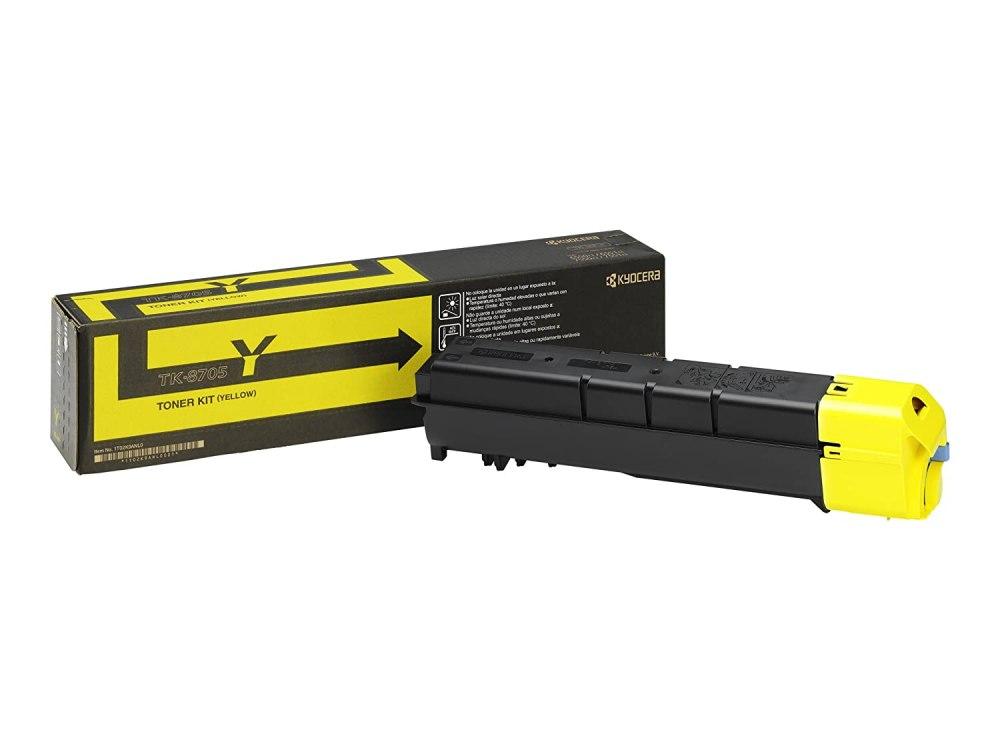 Kyocera TK-8705Y yellow toner cartridge