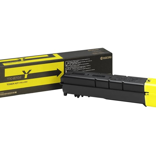 Kyocera TK-8705Y yellow toner cartridge