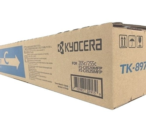 Kyocera TK-897C cyan toner cartridge