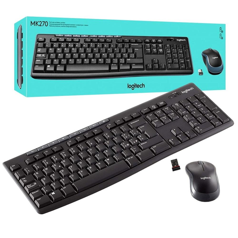 Logitech MK270 Wireless Keyboard and Mouse