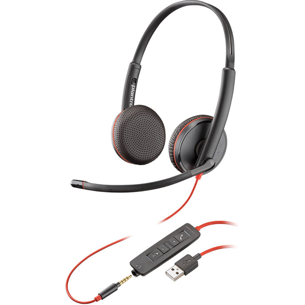 Plantronics blackwire 3220 USB type-A stereo