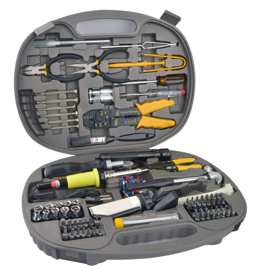 S-TEK 145 pieces Computer Repair Tool Kit
